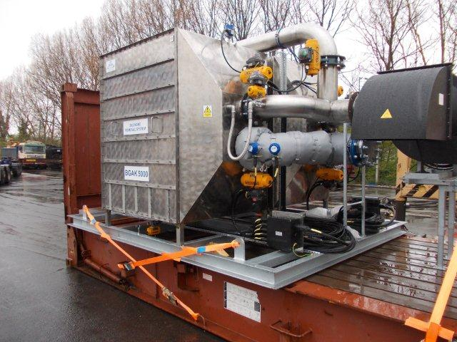 Gas Filtration Equipment currently on the water to Argentina