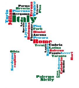 freight forwarding UK to Italy