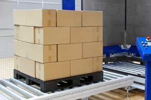 part load shipment on pallet