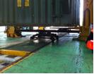 railway bogey loaded