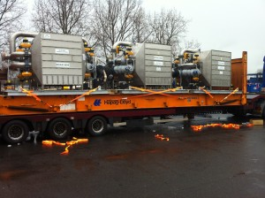 Urgent shipment of gas filtration equipment to Chile