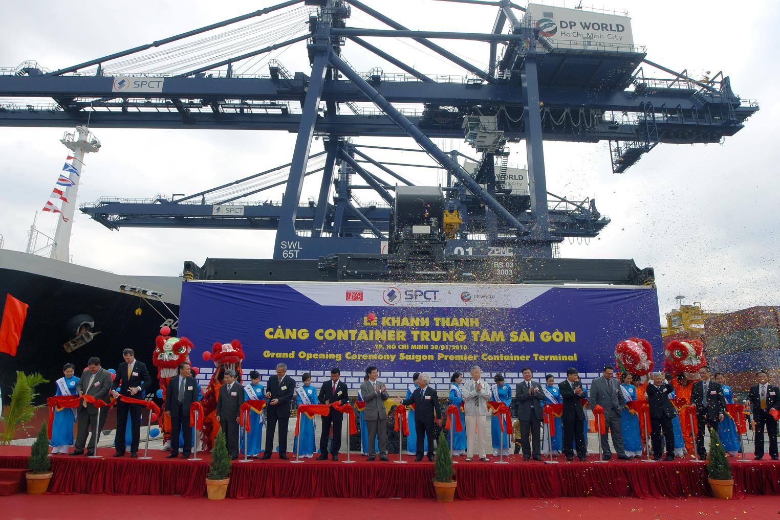 Vietnam Saigon Sea Port and Terminal