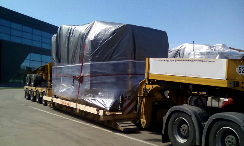 rolls royce out of gauge transport to germany