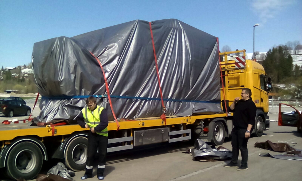 rolls royce out of gauge transport to germany 2